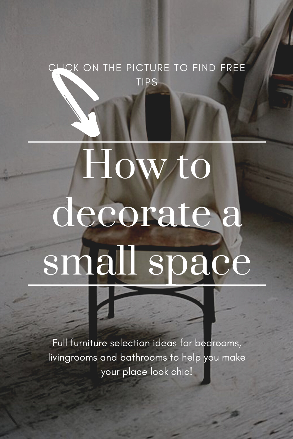 How to decorate a small space?