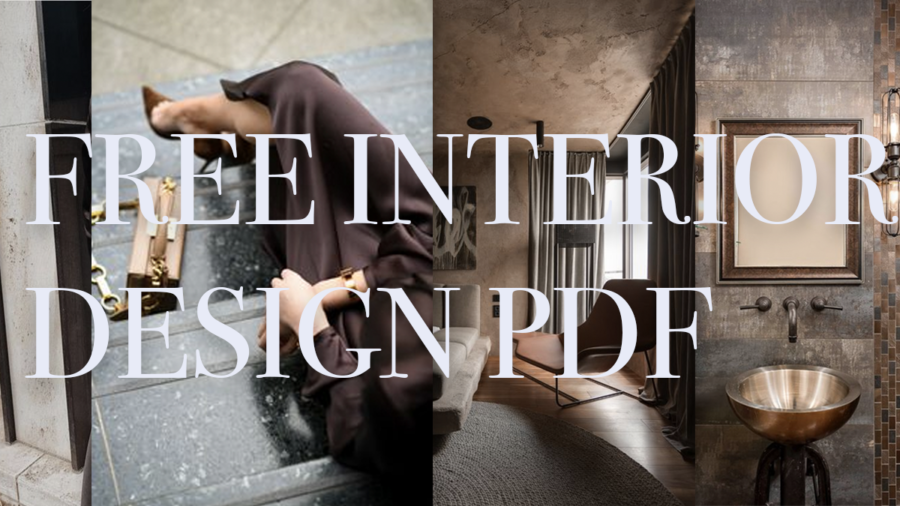 Free Interior Design Process Checklist for absolute beginners and enthusiasts
