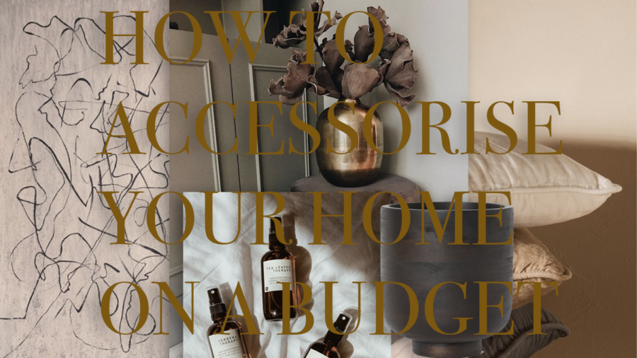 How to accessorise on a budget?