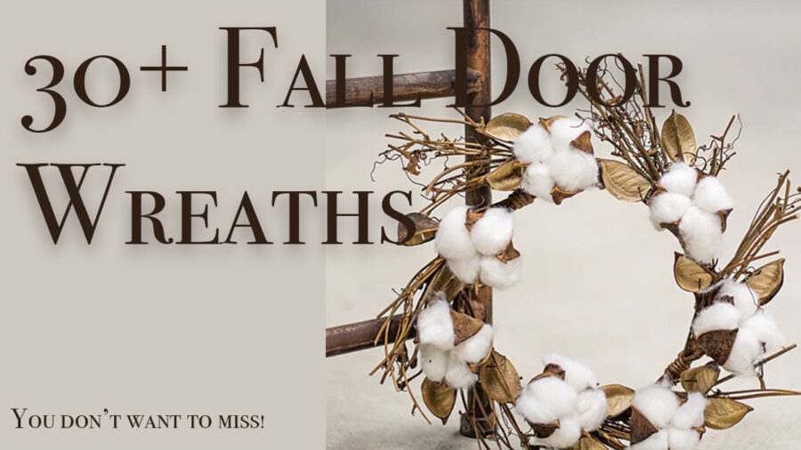 30+ beautiful and affordable fall wreaths