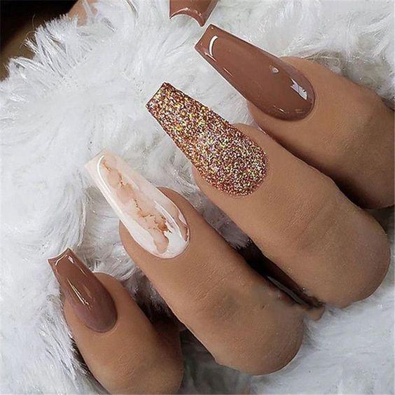 almond nail designs 2021