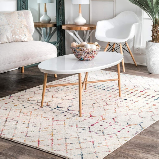 how to decorate with natural fibre rugs