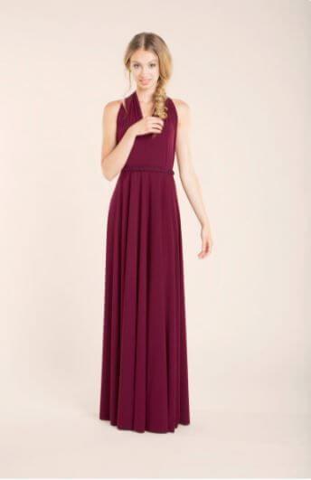 Cadbury Purple Bridesmaid Dresses 2