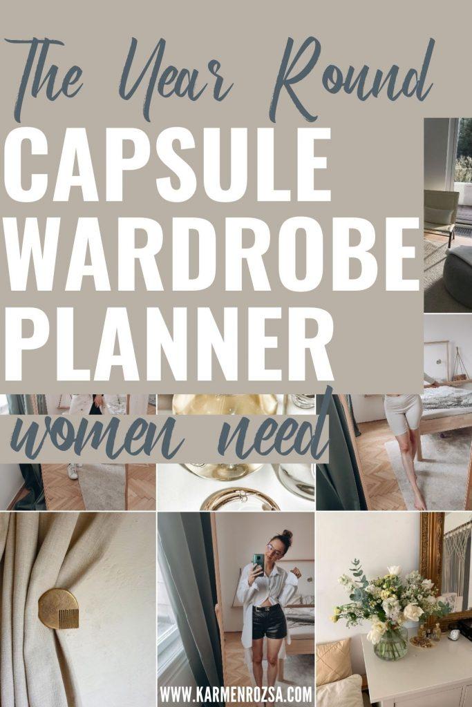 Capsule Wardrobe Planner 5