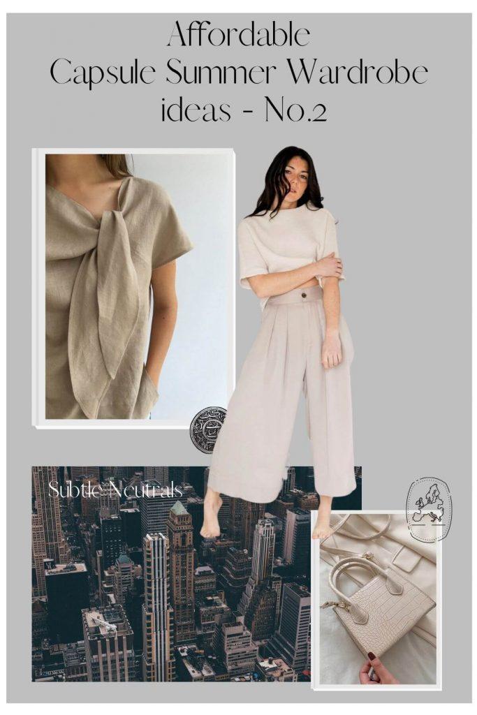 Capsule Summer Wardrobe 2