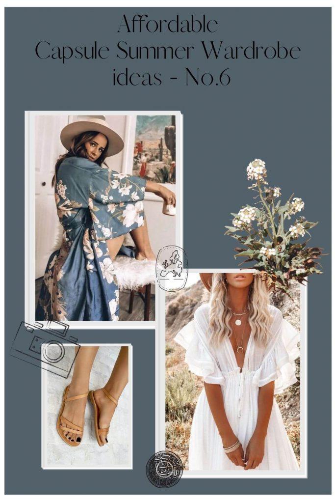 Capsule Summer Wardrobe 6